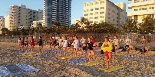 Sunrise Meditation & Beach Yoga