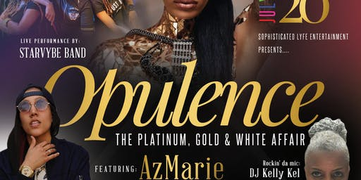 OPULENCE~The Saturday Night LGBTQ Women's White Party for Pride