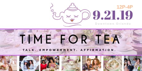 Time for TEA 2019 tickets