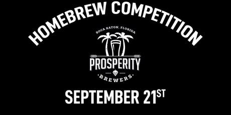 Homebrew Competition at Prosperity Brewers tickets
