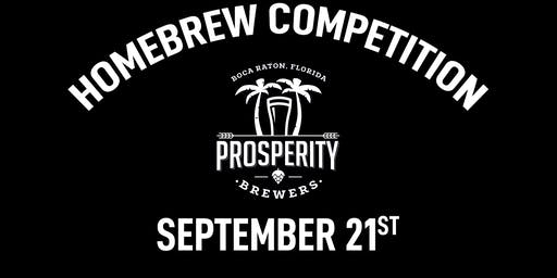 Homebrew Competition at Prosperity Brewers
