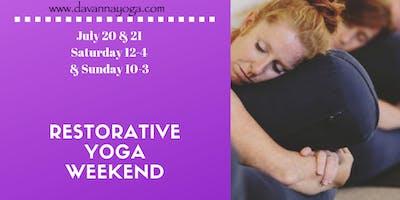 Relaxing Restorative Yoga Weekend