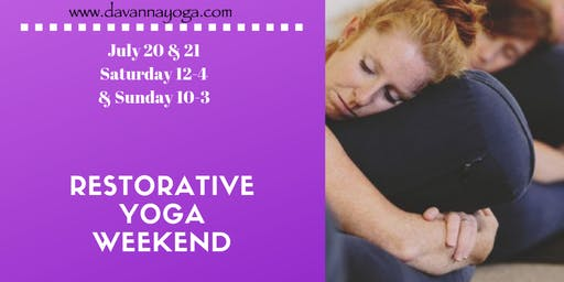 Relaxing Restorative Yoga Weekend