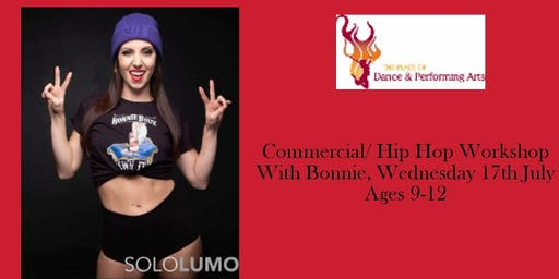 TPODPA Spectacular Summer Dance Workshop. Commercial /Hip Hop ( Age 9-12)