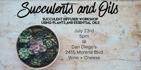 Succulents and Oils tickets