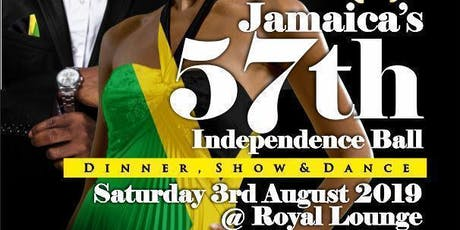 Jamaica`s 57th Independence Ball  tickets