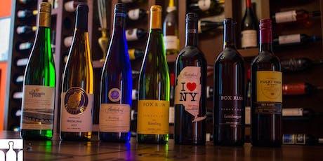 Masterclass vinhos de NEW YORK ingressos