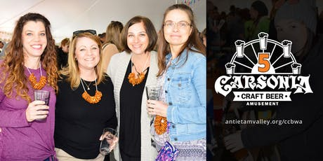 Carsonia Craft Beer & Wine Amusement 2019 tickets