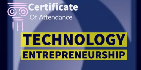 Technology Entrepreneurship tickets