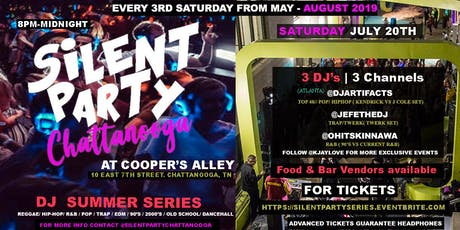SILENT PARTY CHATTANOOGA (SUMMER SERIES) tickets