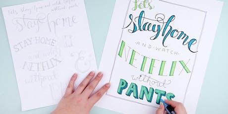 CraftJam Academy: Hand Lettering Workshop  tickets