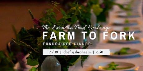 5th Ward Grows - Farm 2 Fork Fundraiser Dinner w/ Chef Q.Ibraheem tickets