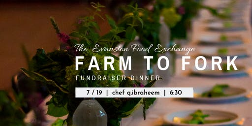 5th Ward Grows - Farm 2 Fork Fundraiser Dinner w/ Chef Q.Ibraheem