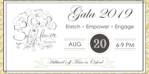 Enrich. Empower. Engage. Gala benefiting Safe Haven Counseling