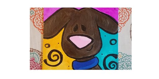 Puppy Power! - Kids Paint Party with Abby Wilner