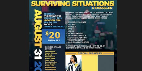 Sisters Surviving Struggles tickets