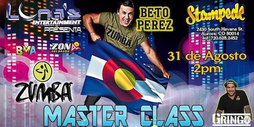 Zumba Master Class with Beto Perez