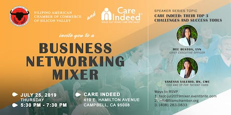 Business Networking Mixer Hosted by FACC & Care Indeed tickets