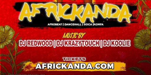 #Africkanda Afrojam Aug 9th