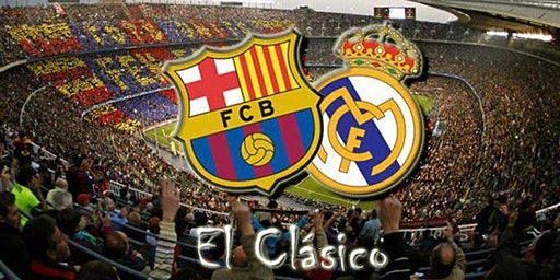 2020 El Clasico Barcelona vs Real Madrid New Orleans Watch Party