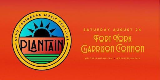 PLANTAIN | Afro-Caribbean Music Festival