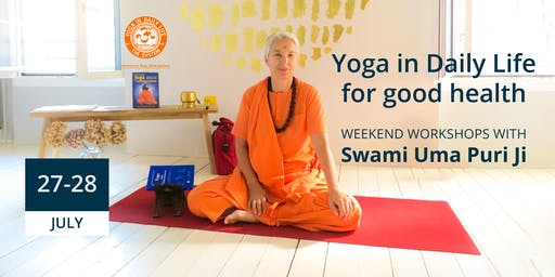 Yoga in Daily Life for Good Health