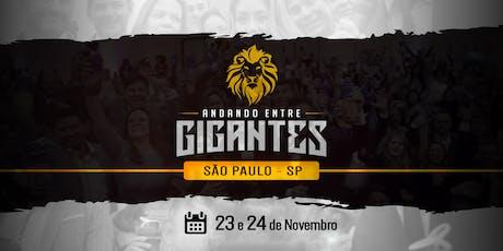 Andando entre GIGANTES –  [SÃO PAULO]  -  5ª Edição ingressos