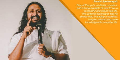 BEYOND THE MONDAY BLUES - Wellbeing Workshop with Swami Jyothirmayah tickets