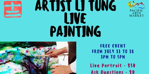 Live Painting with Li Tung