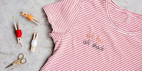 Makers Workshop: Embroidery DIY T-Shirts tickets