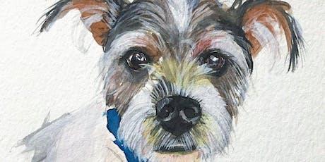 Makers Workshop: Watercolor Pet Portraits tickets