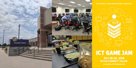 2019 ICT Game Jam - July 26-28 at Butler Community College tickets