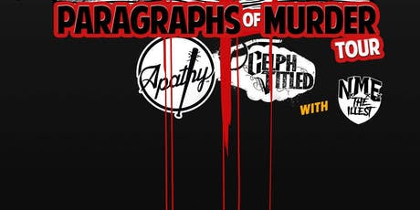 Paragraphs Of Murder Tour with Apathy & Celph Titled tickets