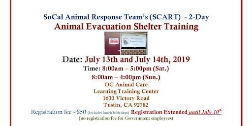 Animal Evacuation Shelter Training - 2 Days