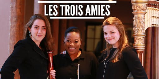 Chamber Music at San Miguel Chapel: LES TROIS AMIES