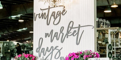 Vintage Market Days - Fall 2019