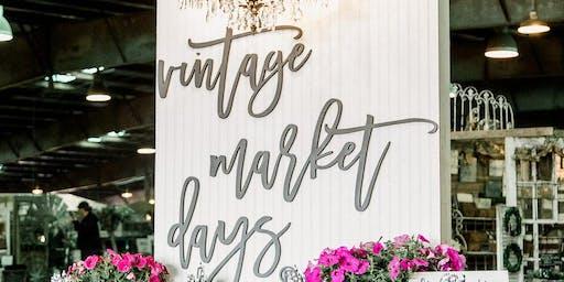 Vintage Market Days - Fall 2019