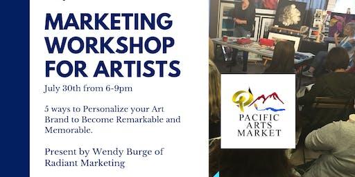 Marketing for Artists Workshop