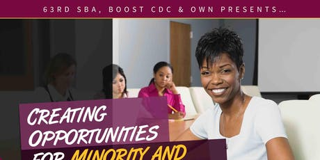 Creating Opportunities for Minority and Women Businesses tickets