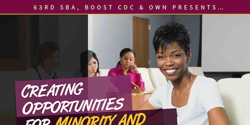 Creating Opportunities for Minority and Women Businesses