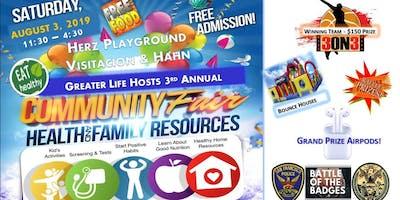Greater Life Hosts Sunnydale Community Health Fair Outreach