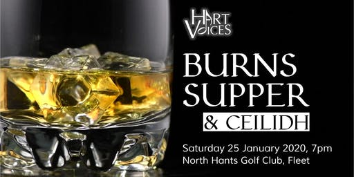 Burns Supper & Ceilidh - A Hart Voices Event
