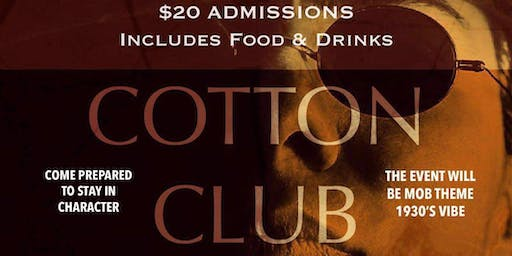 Cotton Club - A Murder Mystery Party