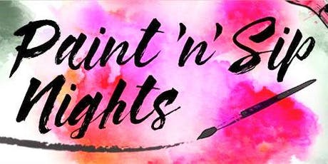 Wednesday Wine Down $20 Sip n Paint Canvas Painting Nov 13th  tickets