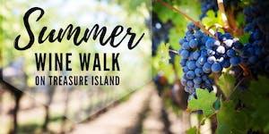 Summer Wine Walk on Treasure Island