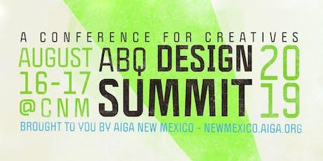 2019 ABQ Design Summit tickets