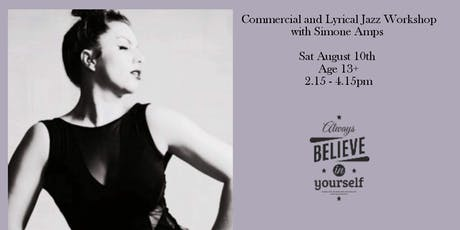 TPODPA Summer Dance Workshops , Commercial & Lyrical Jazz (Age 13+) tickets