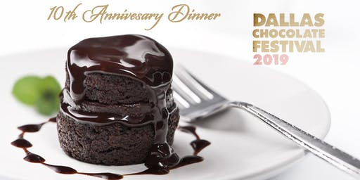 10th Anniversary Dinner - Dallas Chocolate Festival