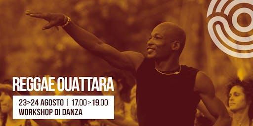 Workshop di Danza Afro w/ Reggae Ouattara