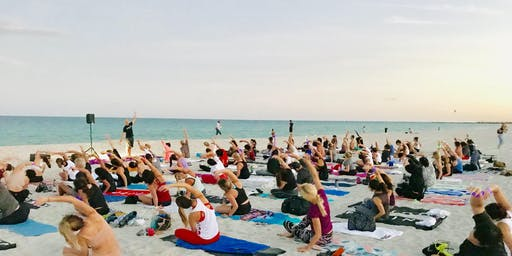 Moonlight Yoga by Equinox South Beach